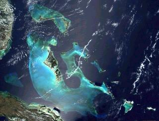 NASA Satellite Picture of the Bahamas
